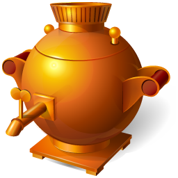 Russian samovar free PNG icon
