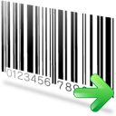 Barcode icon png