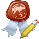 Certificate icon png