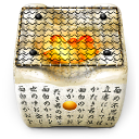 Shichirin charcoal brazier icon png