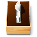 Japan Tissue paper box icon png