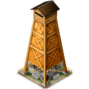 Yagura hot spring tower icon png