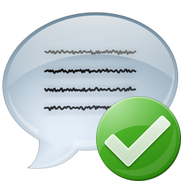 Message icon png