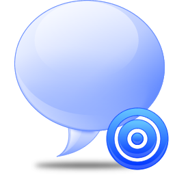 Message balloon icon png
