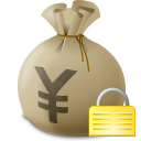 Money bag icon png