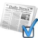Newspaper icon png