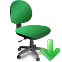 Office chair icon png