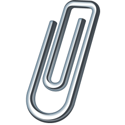 Paper clip icon png