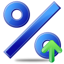 Percent icon png