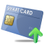 Plastic card icon png