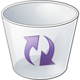 Recycle bin icon png