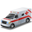 Ambulance car free icon png