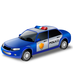 Police car free icon png