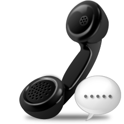 Telephone receiver icon png
